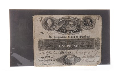 Lot 562-A THE COMMERCIAL BANK OF SCOTLAND LIMITED £1 1834