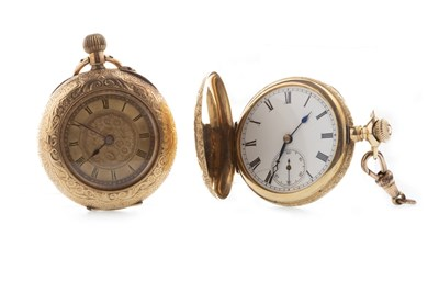 Lot 848-TWO CONTINENTAL FOB WATCHES