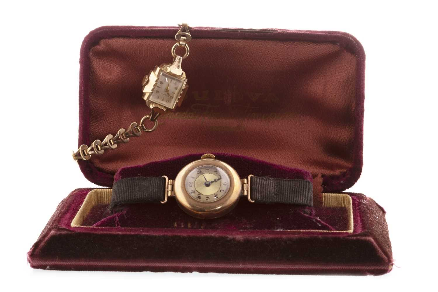 Lot 860-TWO LADY'S WRIST WATCHES