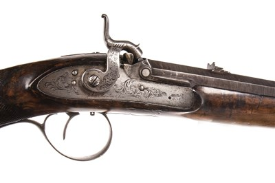 Lot 838-JOHN MANTON & SON - A HANDSOME EARLY 19TH CENTURY RIFLE