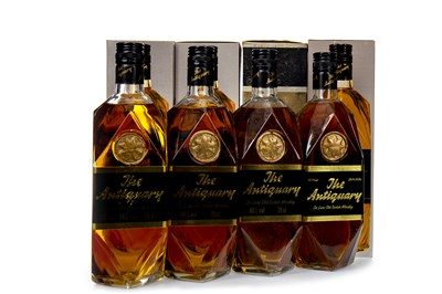 Lot 404-FOUR BOTTLES OF ANTIQUARY