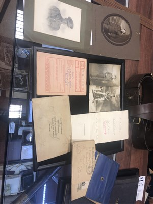Lot 848-AN INTERESTING MILITARY ARCHIVE RELATING TO GEORGE CHARLTON KILLEY, M.C.