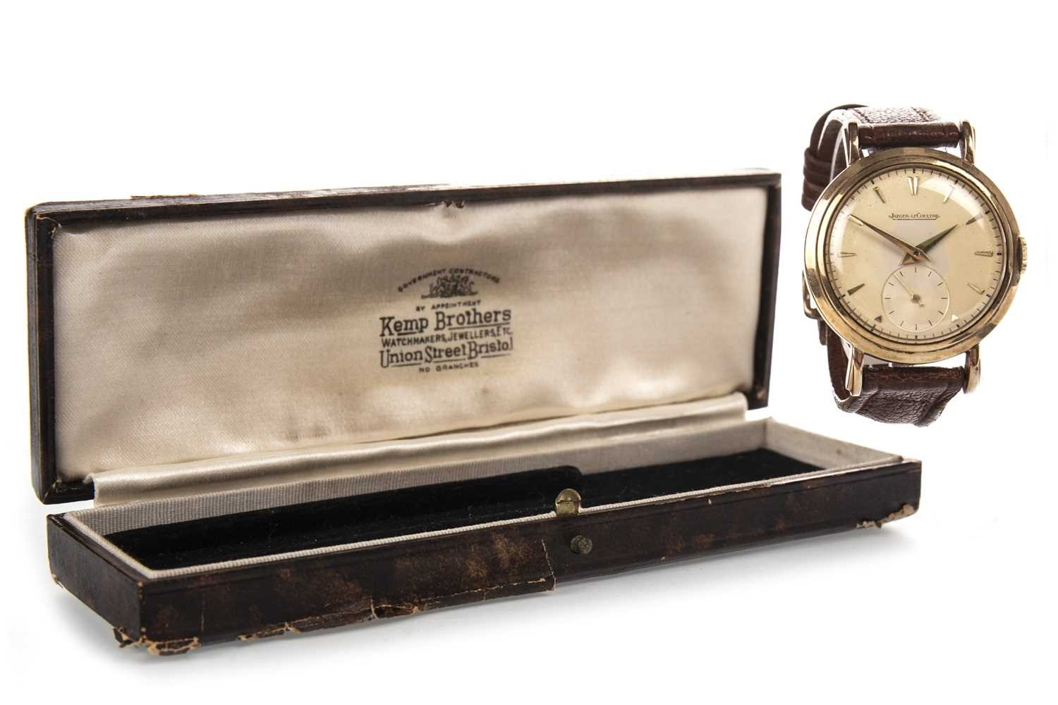 Lot 850 - GEORGE CHARLTON KILLEY - HIS JAEGER LECOULTRE WRIST WATCH