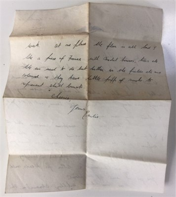 Lot 851-A POIGNANT AND FASCINATING ARCHIVE RELATING TO LIEUT. WILLIAM JOHN SHORTER