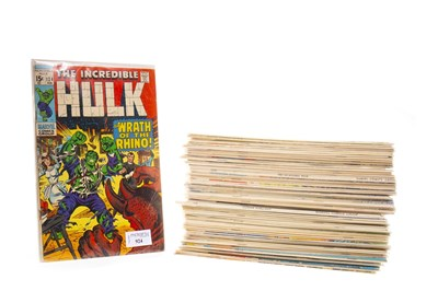 Lot 924-A COLLECTION OF MARVEL COMICS INCLUDING THE INCREDIBLE HULK AND CONAN THE BARBARIAN