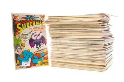 Lot 926-A COLLECTION OF MARVEL COMICS INCLUDING SUPERMAN, CAPTAIN MARVEL AND SPIDERMAN