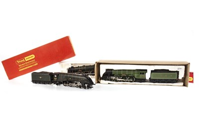 Lot 931-A TRI-ANG HORNBYL. M. S. 4-6-2 PRINCESS LOCOMOTIVE AND THREE DUBLO TENDERS