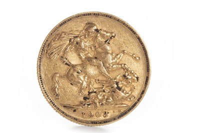 Lot 551-A GOLD SOVEREIGN, 1903