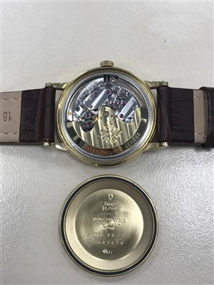 Lot 754-A GENTLEMAN'S PATEK PHILIPPE GENEVE GUBELIN WATCH