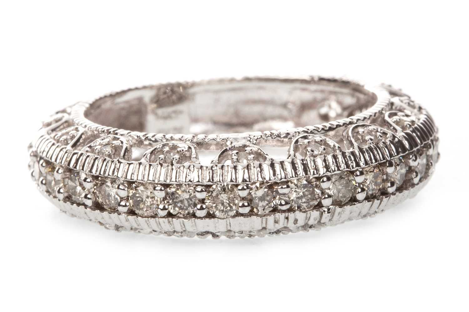 Lot 22-A DIAMOND SET BAND