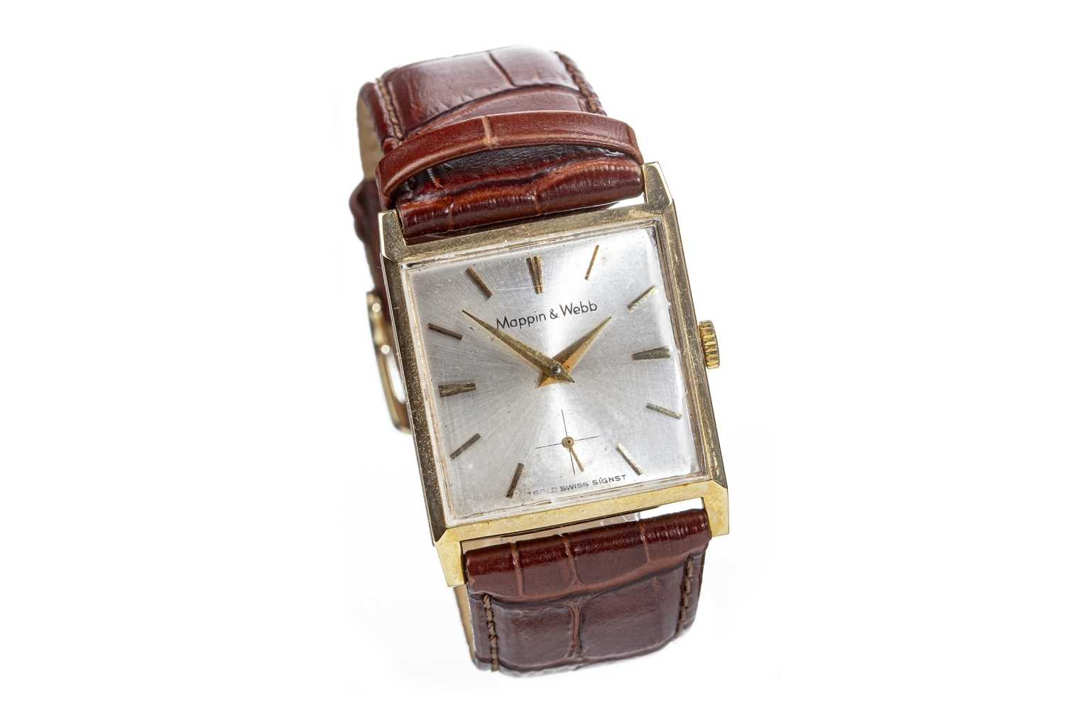 Lot 791-A GENTLEMAN'S MAPPIN & WEBB GOLD WATCH