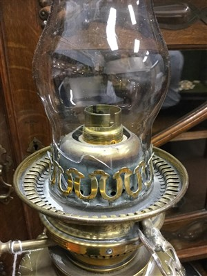 Lot 1618-A VICTORIAN OIL LAMP