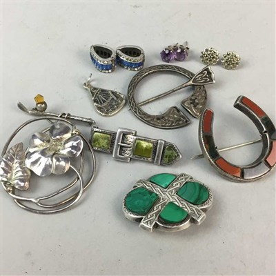 Lot 39-A COLLECTION OF SILVER JEWELLERY