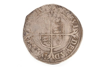 Lot 548 - AN ELIZABETH I SILVER HAMMERED SIXPENCE
