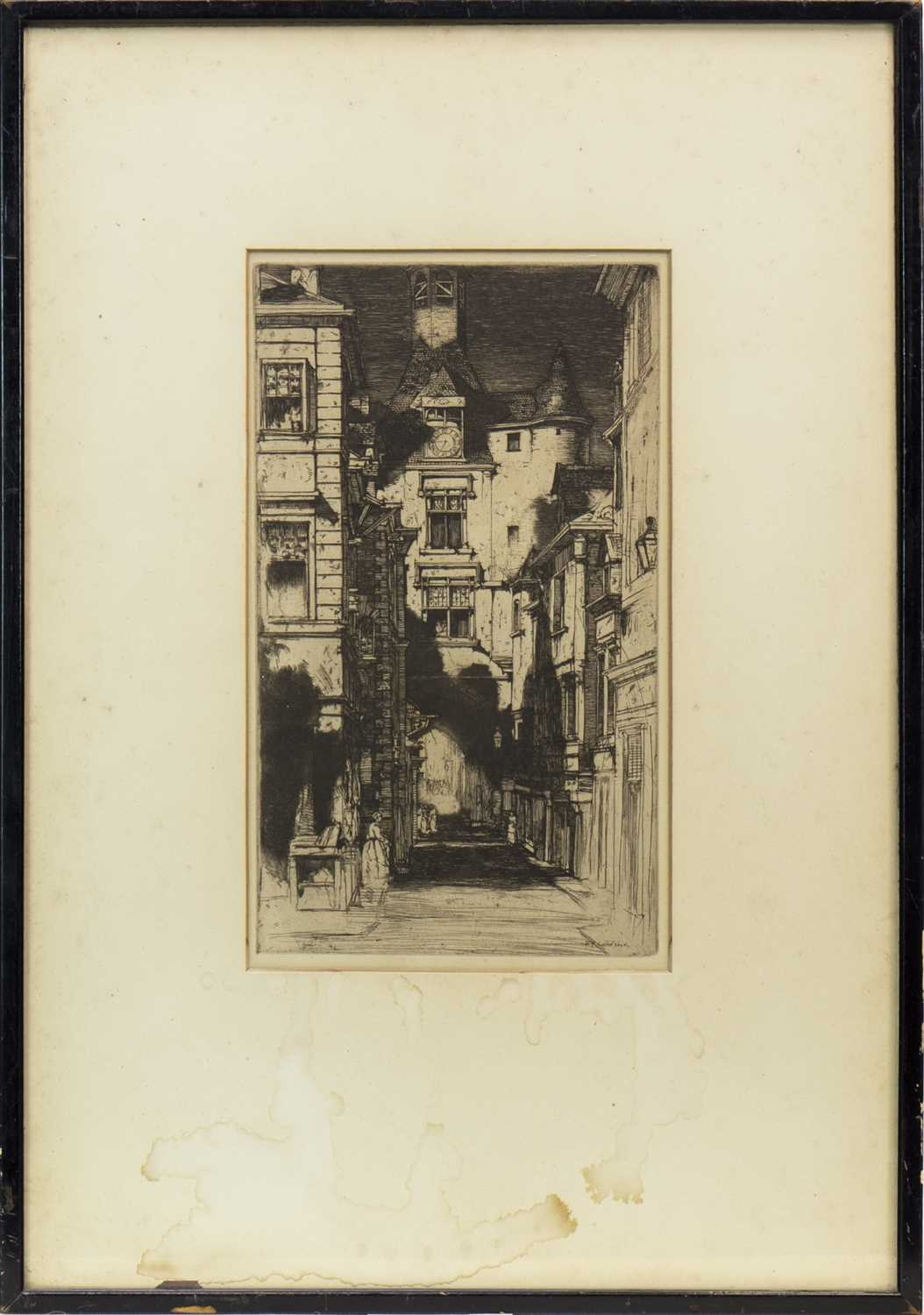Lot 404-AMBOISE, AN ETCHING BY D Y CAMERON