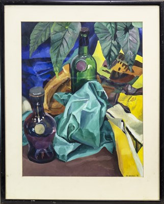 Lot 406-STILL LIFE, AN OIL BY ROSS HENRICKSON