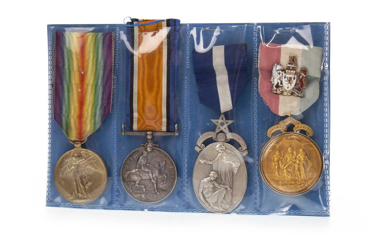 Lot 1622-A MEDAL GROUP AWARDED TO PRIVATE T. HARTLEY