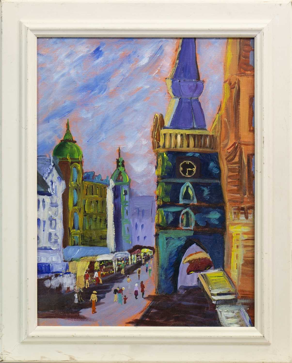Lot 410-AN OIL DEPICTING TRONGATE