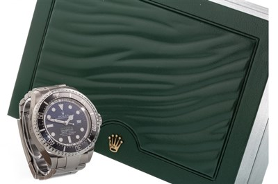 Lot 751 - A ROLEX OYSTER PERPETUAL DATE DEEP SEA JAMES CAMERON WATCH