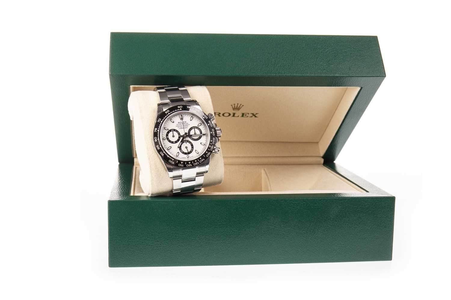 Lot 756-A ROLEX OYSTER PERPETUAL DAYTONA WATCH