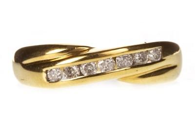 Lot 33-A DIAMOND SET BAND