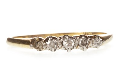 Lot 98-A DIAMOND RING
