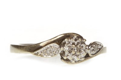 Lot 110-A DIAMOND DRESS RING