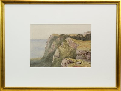 Lot 413-A PASS IN CRIMEA, A WATERCOLOUR BY COLONEL BEN HALLEWELL