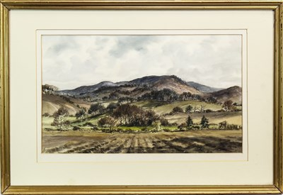 Lot 419-A PAIR OF WATERCOLOURS BY ARTHUR BELL-FOSTER