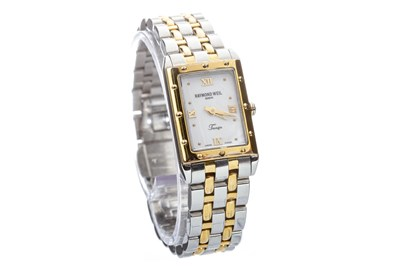 Lot 782-A LADY'S RAYMOND WEIL TANGO STEEL WATCH
