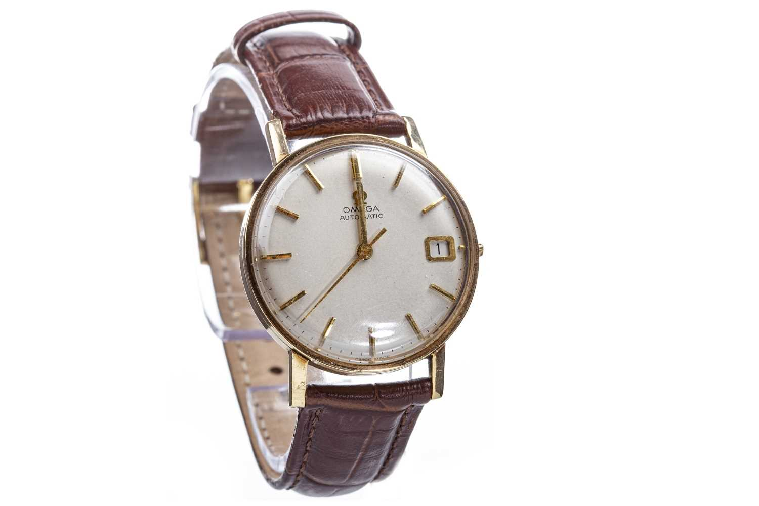 Lot 794-GENTLEMAN'S OMEGA AUTOMATIC GOLD  WATCH