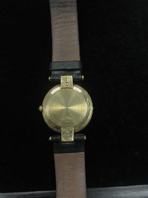 Lot 783-A GENTLEMAN'S DUNHILL GOLD QUARTZ WRIST WATCH