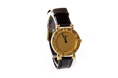 Lot 795-A LADY'S TIFFANY & CO GOLD QUARTZ WATCH