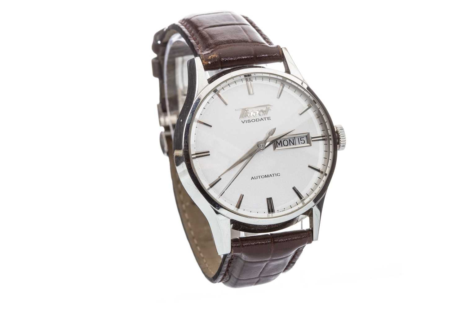 Lot 807-A GENTLEMAN'S TISSOT VISIODATE AUTOMATIC WATCH