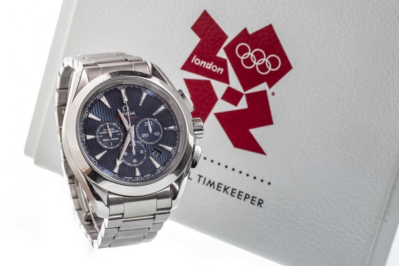 Lot 835-A GENTLEMAN'S OMEGA SEAMASTER 2012 OLYMPICS WATCH