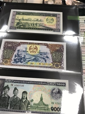 Lot 569 - A COLLECTION OF INTERNATIONAL BANKNOTES