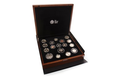 Lot 571-A THE ROYAL MINT PROOF COIN SET 2016