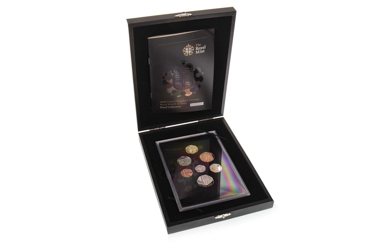 Lot 579-A THE ROYAL MINT 2008 ROYAL SHIELD OF ARMS PROOF COLLECTION
