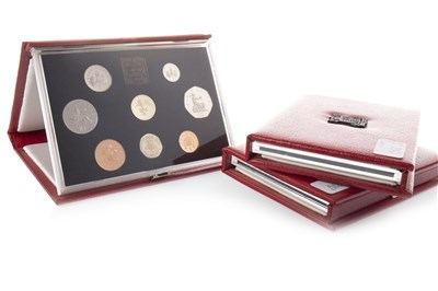 Lot 582 - THREE THE ROYAL MINT UNITED KINGDOM PROOF COIN COLLECTIONS