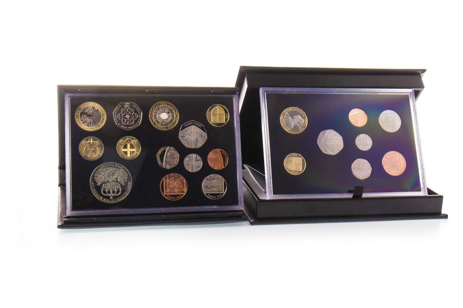Lot 584 - TWO COIN SETS