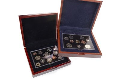 Lot 587-TWO THE ROYAL MINT EXECUTIVE PROOF COLLECTIONS