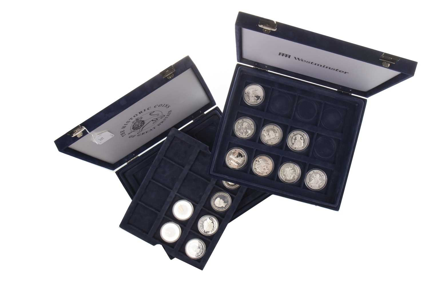 Lot 588-A COLLECTION OF SILVER PROOF AND OTHER COINS