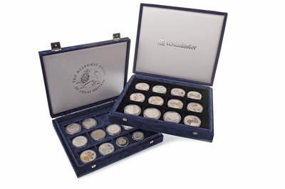 Lot 589-A COLLECTION OF SILVER AND OTHER USA COINS