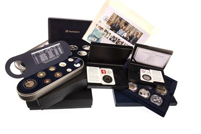 Lot 590-A GROUP OF COLLECTIBLE COINS AND SETS
