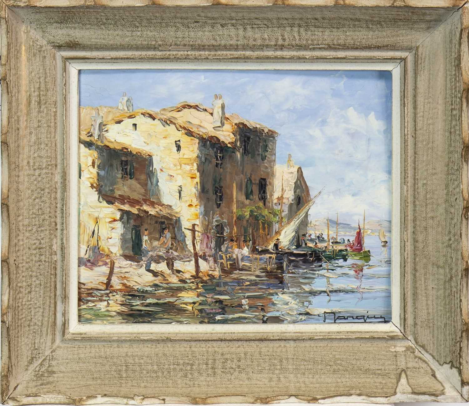 Lot 423-A WATERCOLOUR BY WILLIAM LEIGHTON LEITCH