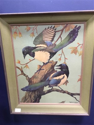 Lot 16-AFTER RALSTON GUDGEON, MAGPIES