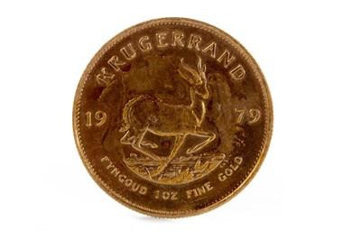 Lot 591 - A GOLD KRUGERRAND, 1979