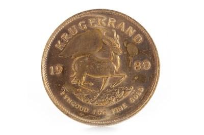 Lot 592-A GOLD KRUGERRAND, 1980