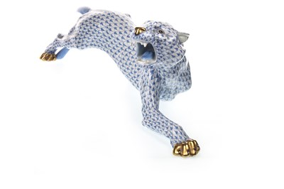 Lot 1221-A HEREND FIGURE OF A TIGER