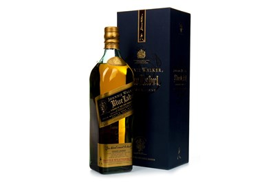 Lot 410-JOHNNIE WALKER BLUE LABEL